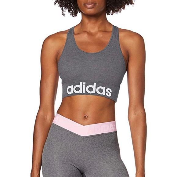 NWOT Adidas Design 2 Move Logo Sport Bra